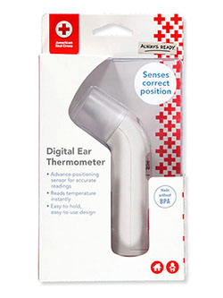 Digital Ear Thermometer by American Red Cross in White, Infants