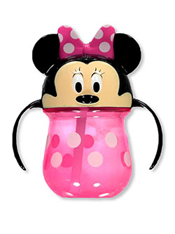 Minnie Mouse Straw Sipper Cup With Handles By Disney by Disney Minnie Mouse in Multi