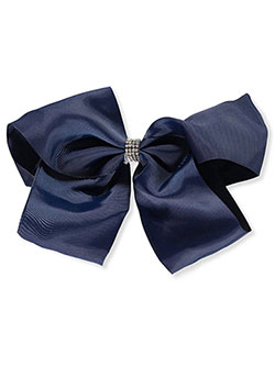 French Toast Kids School Uniform Bow Hair Clips and Headband 3-pack Navy Blue /& White One Size
