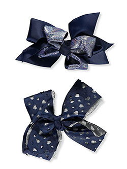 2-Pack Hair Bows by French Toast in Multi