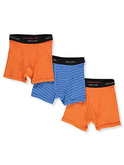 Boys' 3-Pack Boxer Briefs by Fruit of the Loom in Multi