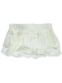 Baby Girls' Ruffle Skorts by Gerber in White, Infants