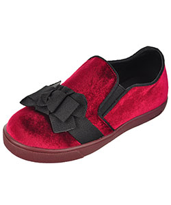 GC Shoes Girls' Velvet Low-Top Sneakers (Toddler Sizes 11 – 12) - CookiesKids.com