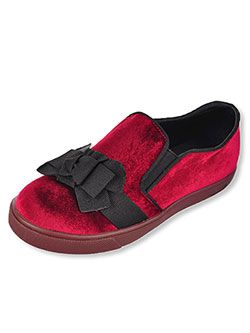 GC Shoes Girls' Velvet Low-Top Sneakers (Youth Sizes 13 – 5) - CookiesKids.com