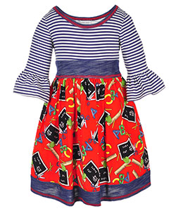 Bonnie Jean Little Girls' Toddler Belted Dress (Sizes 2T – 4T) - CookiesKids.com