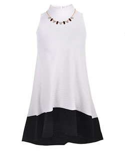 Bonnie Jean Girls' Tunic Dress with Necklace - CookiesKids.com