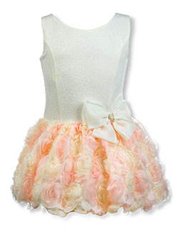 Girls' Rose Bubble Dress by Blue Gorgeous in Pink, Sizes 7-16