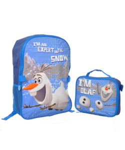 "Disney Frozen ""I'm Olaf"" Backpack with Lunchbox - CookiesKids.com"