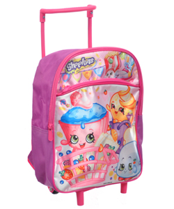 "Shopkins ""Friendly Food"" Mini Rolling Backpack - CookiesKids.com"