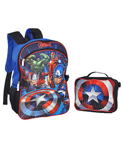 "Avengers ""The First"" Backpack with Lunchbox - CookiesKids.com"