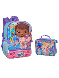 "Doc McStuffins ""Toy Medic"" Backpack with Lunchbox - CookiesKids.com"