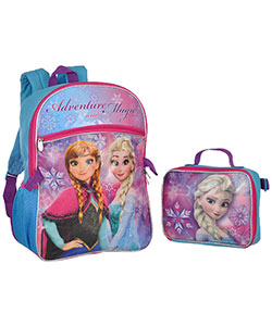"Disney Frozen ""Elsa Adventure & Magic"" Backpack with Lunchbox - CookiesKids.com"