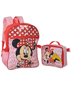 "Minnie Mouse ""Let's Hang!"" Backpack with Lunchbox - CookiesKids.com"