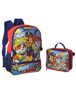 "Paw Patrol ""Ready for Action"" Backpack with Lunchbox - CookiesKids.com"