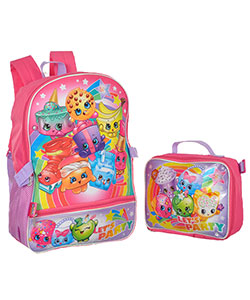 "Shopkins ""Let's Party!"" Backpack with Lunchbox - CookiesKids.com"