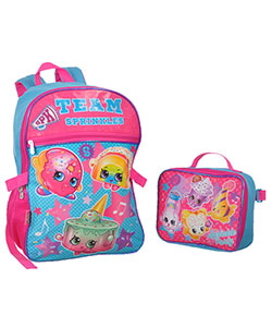 "Shopkins ""Team Sprinkles"" Backpack with Lunchbox - CookiesKids.com"