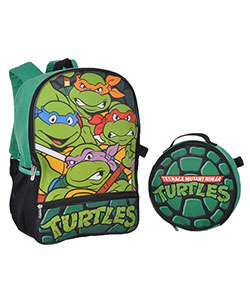 "TMNT ""Half Shell"" Backpack with Lunchbox - CookiesKids.com"