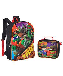 "TMNT ""Say Cheese"" Backpack with Lunchbox - CookiesKids.com"