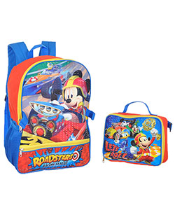 "Mickey and the Roadster Racers ""Let's Roll!"" Backpack with Lunchbox - CookiesKids.com"