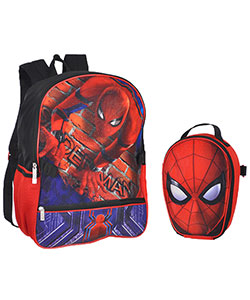 "Spider-Man ""Web Flyer"" Backpack with Lunchbox - CookiesKids.com"