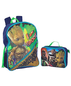 "Guardians of the Galaxy ""I Am Groot"" Backpack with Lunchbox - CookiesKids.com"