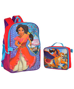 "Disney Elena of Avalor ""Protector of the Kingdom"" Backpack with Lunchbox - CookiesKids.com"