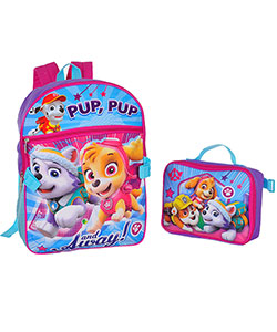 Paw Patrol Backpack with Lunchbox - CookiesKids.com