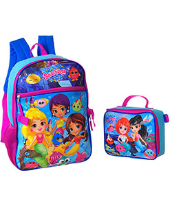 Backpack with Lunchbox by Splashlings in Purple/multi