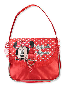 Minnie Mouse Shoulder Purse by Disney in Red