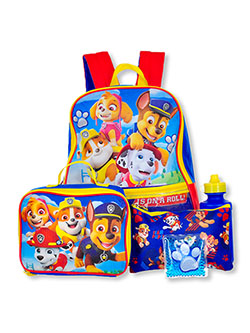 5-Piece Backpack & Accessories Set by Paw Patrol in Multi