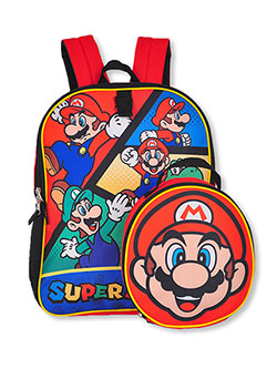 Backpack & Lunchox Set by Super Mario Bros. in Multi - $28.00