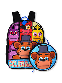 Backpack & Lunchbox Set by Five Nights at Freddy's in Multi - $28.00