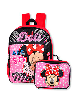 Minnie Mouse Backpack & Lunchbox Set by Disney in Multi