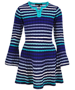 Derek Heart Big Girls' Sweater Dress (Sizes 7 – 16) - CookiesKids.com