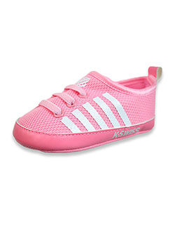 Baby Girls' Striped Mesh Sneakers by K-Swiss in Pink, Infants
