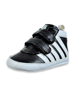 Baby Boys' Striped Sneakers by K-Swiss in Black, Infants
