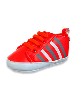 Baby Boys' Striped Sneakers by K-Swiss in red and white, Infants