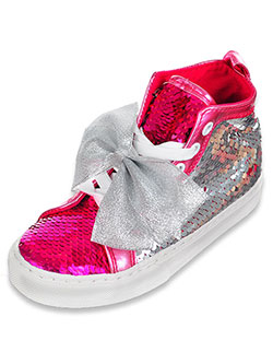 Girls' Hi-Top Sneakers by Jojo Siwa in Pink/silver