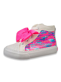Girls' Bow Hi-Top Sneakers by Jojo Siwa in Pink