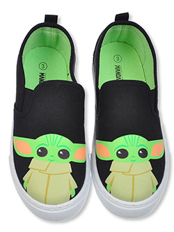 Boys' Baby Yoda Slip-On Sneakers by Star Wars in Multi