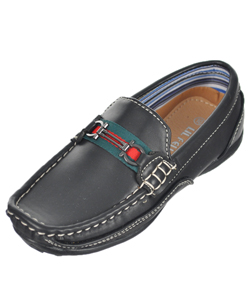 "Lil Fellas Boys' ""Moravia"" Loafers (Toddler Sizes 5 – 10) - CookiesKids.com"