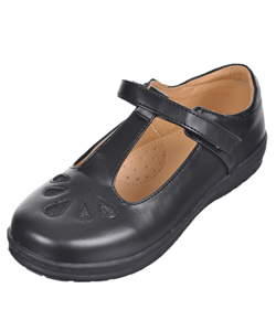 "Rya Girls' ""Glitter Teardrops"" Mary Janes (Youth Sizes 12.5 – 3) - CookiesKids.com"