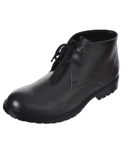 "Goodfellas Boys' ""Cityside"" Ankle Boots (Youth Sizes 5 – 8) - CookiesKids.com"