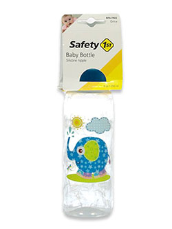 Animal Friend 9 Oz Baby Bottle by Safety 1st in blue, green, yellow and more