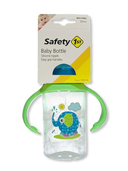 Animal Friend 5 Oz Baby Bottle by Safety 1st in blue/multi, fuchsia/multi, yellow multi and more