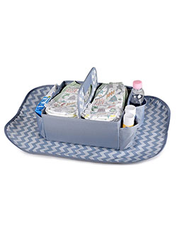 Diaper Caddy with Changing Pad by Masirs in Multi