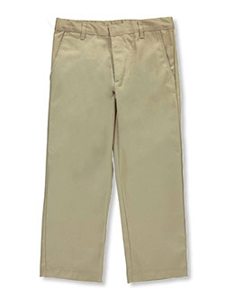 Galaxy Big Boys' School Uniform Slim Pants by Galaxy School Uniforms in Khaki