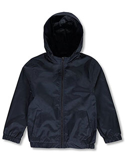 Boys' Windbreaker Jacket by Galaxy by Harvic in Navy