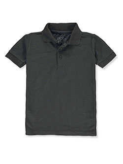 Galaxy by Harvic Boys' S/S Solid Polo by Galaxy School Uniforms in black, burgundy, white and more