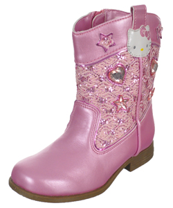 "Hello Kitty Baby Girls' ""Gemstone Cowgirl"" Boots - CookiesKids.com"
